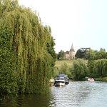 Beautiful views from Kentish Lady river Medway Farliegh