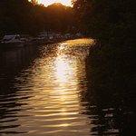 Sunset on the Kentish Lady 3 hour evening cruise.