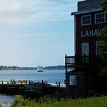 Can't beat this view from the LaHave Bakery area!