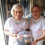 """Chefs DIane & Deborah prepare the first """"Degustation...A-Go-Go"""" Box for Carmel Valley wine taste"""