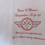 Our t-shirts say it all! For a SUBLIME WINE TASTING EXPERIENCE!