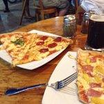 Pizza y beer