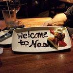 Welcome dessert