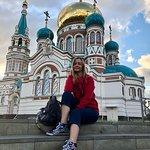 Омский Успенский собор. Красивое место в центре города, окутанное душевной аурой. Если Вы в Омск