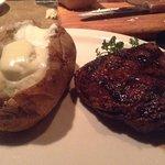 Steak was great!