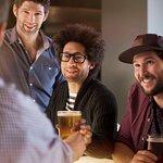 Alpine Social bar with group enjoyin