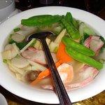 Wor Wonton Soup. Yum!