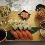Salmon Japanese Plate