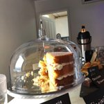 Cakes from The Beas Teas are wonderful! You'll need an Iron Will to resist them!