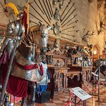 Excellent display of armor, weapons