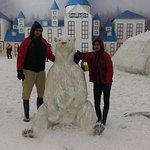 kids in snow world