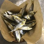 Тюлька вяленая камчатская / Fish sprat dried Kamchatka
