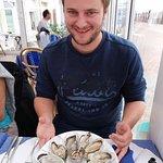 L'entrée : huîtres excellentes