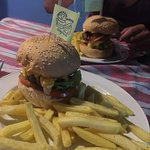 Homemade Burgers And Sandwiches Photo
