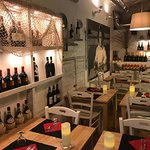 the Osteria in an ancient private cellar
