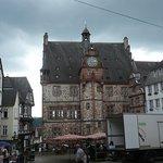 Das Marburger Rathaus.