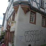 Das Haus der Romantik - Seitenansicht.