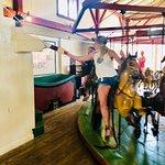 Flying Horses Carousel Foto