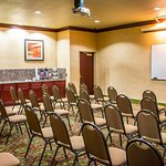 Meeting room with theater-style setup