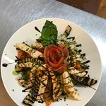 Beautiful presentation, only at enzo's