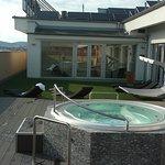 Wellness v 8.patře na střeše hotelu