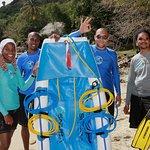 Snuba Team rocks in St Lucia