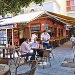 La terraza de Cuba Bar, Marbella