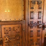 A couple of the hand carven wooden doors in the Castle