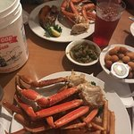 All you can eat alaskan snow crab legs!