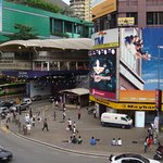Bukit Bintang during daytime across the Bukit Bintang Monorail Station. Located at the heart of