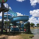 This slide is in the swimming area and is no additional charge.