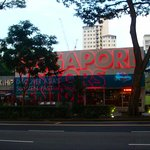 Orchard Road is one of Singapore's tourist attractions and main shopping areas. Luxury brands to