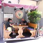 Al Fresco dinning at its best.