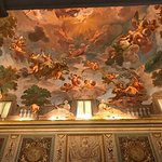 One of many beautiful ceilings