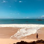 Nearby beach in Tobago