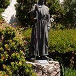 Statue of Father Junipero Serra.