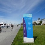 Signage for the Embarcadero