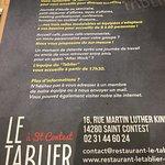 Photo de Le Tablier