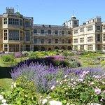 Audley End House Partere Garden