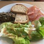 Tapenade d'olives et Jambon