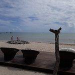 Restaurante na praia