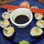 My spicy sushi tuna roll