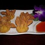 My crab rangoon appetizer. Very good.