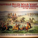 Poster from the Wild West Show at the Museum