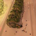 Vegetarian caterpillar roll