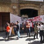 ピカソ美術館のストライキ