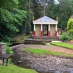 Vindolanda reconstructed temple