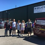 Rudgate brewery is the first stop for Brewtown Tours