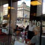 Witryna kawiarni
