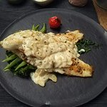 Sea Bass in Almond Sauce